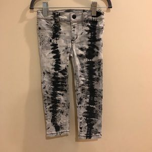 Joes Jeans tie dye stretch Jeans Sz 2 Girls